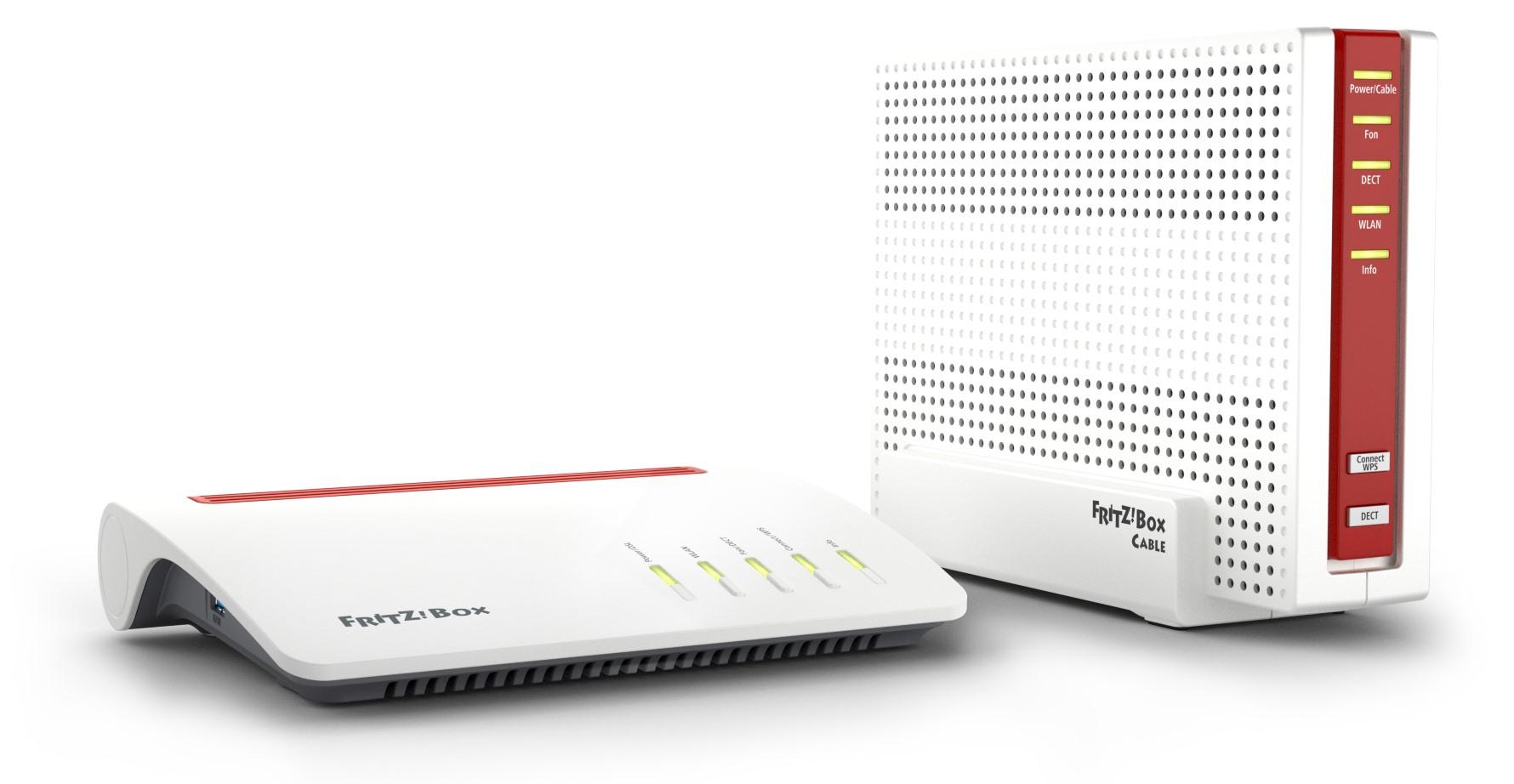 FritzBox 7590 und 6590 Cable mit Gbit-WiFi und Supervectoring ...
