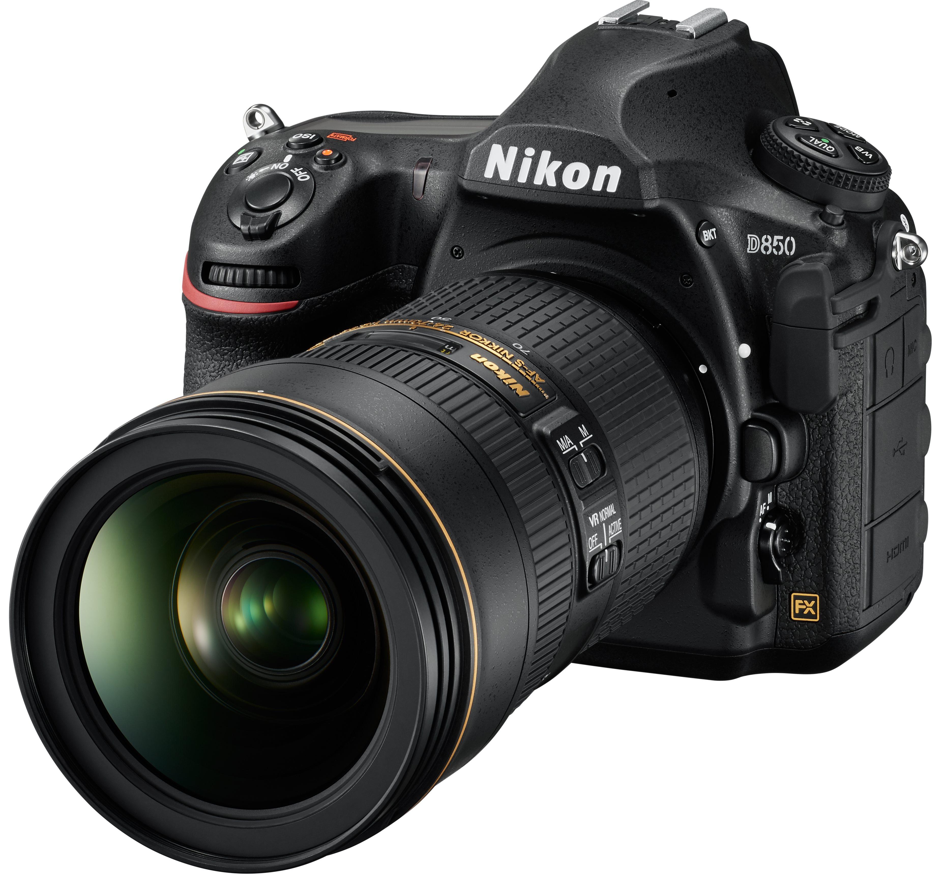 Nikon D850 - Neue Vollformat-DSLR mit 45,4 Megapixeln angekündigt ...