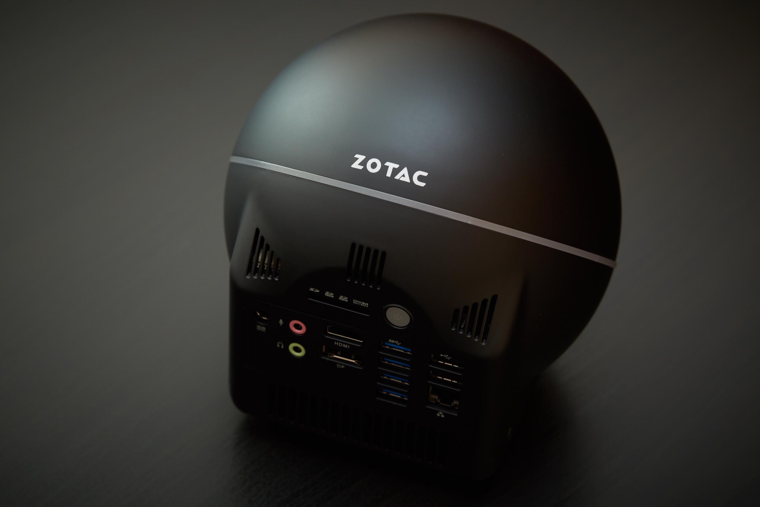 Wohnzimmer Pc Test, zotac zbox sphere - futuristischer mini-pc fürs wohnzimmer im test, Design ideen