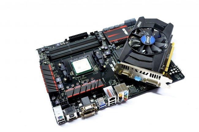 AMD A8-7650K - Das Testsystem