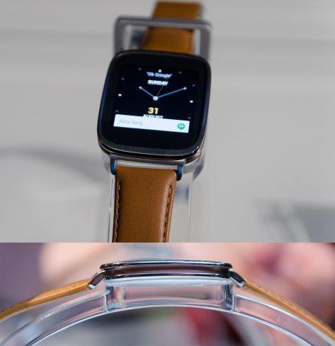 Die ASUS ZenWatch ist die erste Smartwatch des Herstellers und setzt auf Edelstahl und italienisches Leder