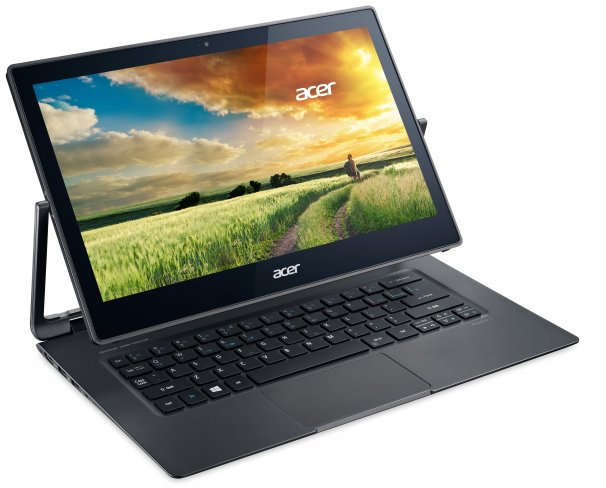 Acer Aspire R13 mit flexiblem Display [Bildmaterial: Acer]