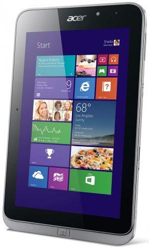 Mit dem Iconia W4-820P (WLAN) bzw. W4-821P hat Acer ein attraktives Windows 8.1 Tablet im Portfolio [Bildmaterial: Acer]