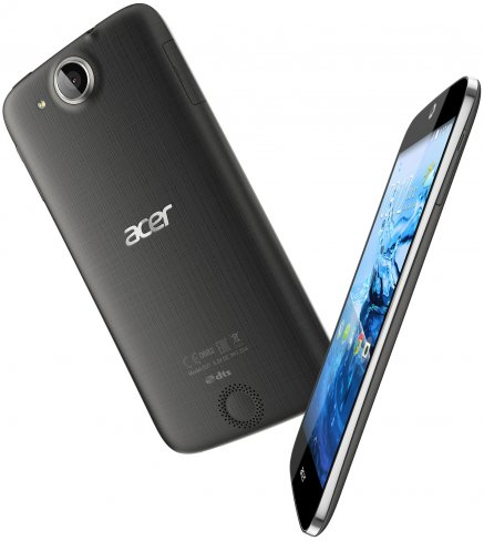 Acer Liquid Jade Z Plus: Bis auf den Prozessor mit 64 Bit-Unterstützung und die strukturierte Rückseite ist das Smartphone dem normalen Jade Plus sehr ähnlich [Bildmaterial: Acer]
