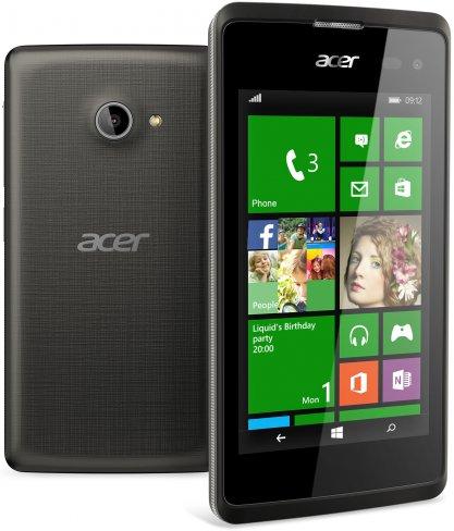 Acer Liquid M220 Plus: Mit 89 Euro gehört dieses Windows Phone zur absoluten Einsteigerklasse [Bildmaterial: Acer]