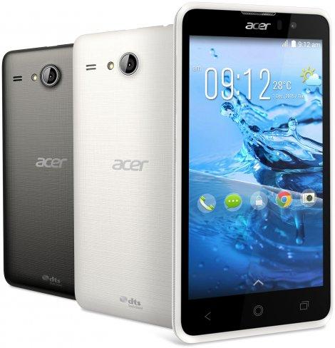 Acer Liquid Z520 Plus: Für wenig Geld bietet man hier einen großen 5-Zoll-Bildschirm [Bildmaterial: Acer]