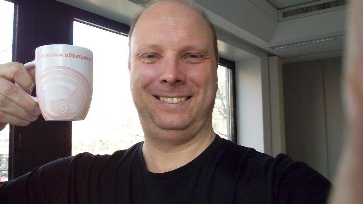 Selfie des Acer Liquid Z6 Plus: Nicht frei von Unschärfen, aber brauchbar
