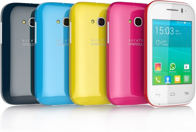 Das neue Alcatel OneTouch POP FIT ist in vielen Farben erhältlich [Bildmaterial: Alcatel]