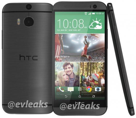 Das neue HTC One in Schwarz [Bildmaterial: @evleaks]