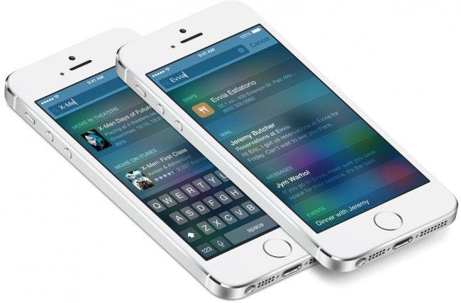 In iOS 8 lassen sich über Spotlight auch Einträge aus anderen Quellen wie Wikipedia finden [Bildmaterial: Apple]
