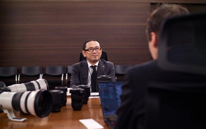 Naohiko Hayashi (Canon) im Interview mit ValueTech im Canon HQ Tokyo