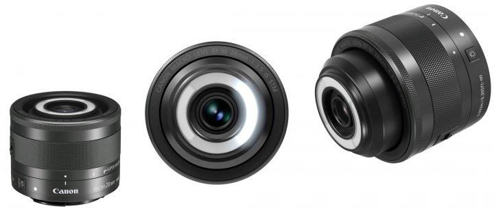 Canon EF-M 28 mm f/3.5 Makro IS STM [Bildmaterial: Canon]