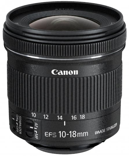 Canon EF-S 10-18 mm f/4.5-5.6 IS STM [Bildmaterial: Canon]