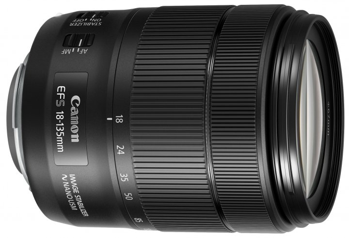 Canon EF-S 18-135 mm f/3.5-5.6 IS USM [Bildmaterial: Canon]
