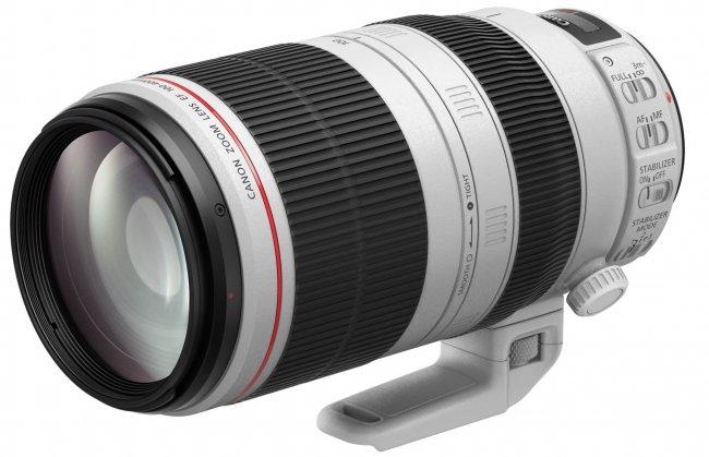 Die Neuauflage hat 16 Jahre bis zur Ankündigung gebraucht: Canon EF 100-400 mm f/4.5-5.6L IS II USM [Bildmaterial: Canon]