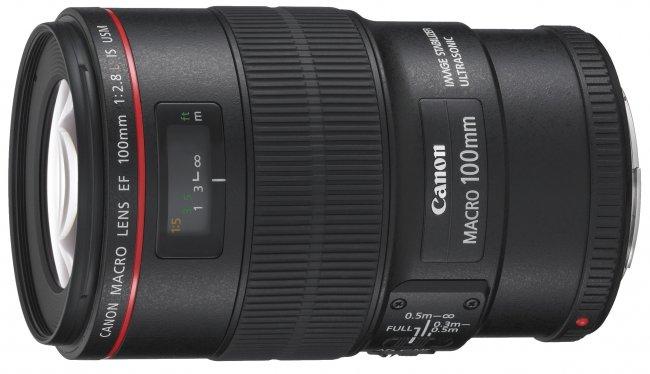 Canon EF 100 mm f/2.8L IS USM Macro [Bildmaterial: Canon]