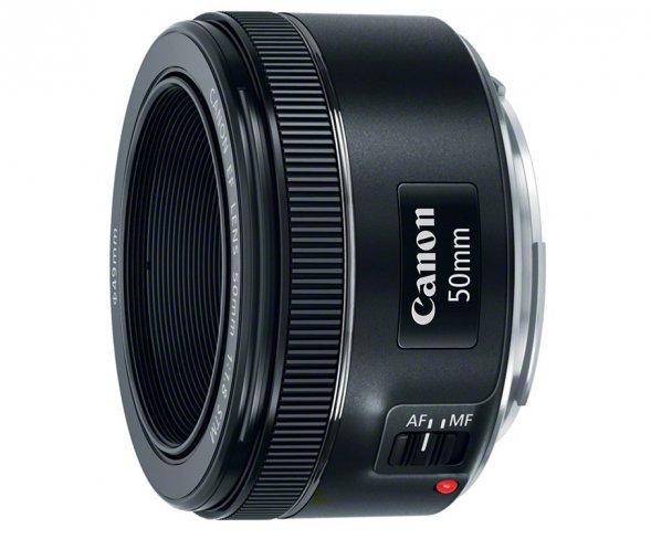 Jetzt auch mit STM-Autofokus: Canon EF 50 mm f/1.8 STM