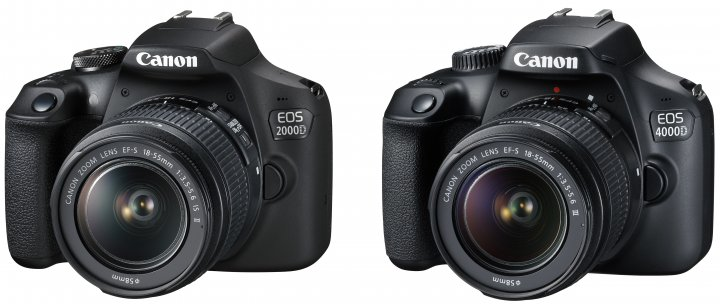 Canon EOS 2000D und 4000D im Vergleich [Bildmaterial: Canon]