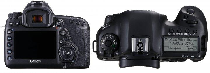 Canon EOS 5D Mark IV: Das Design hat sich nur im Detail verändert [Bildmaterial: Canon]