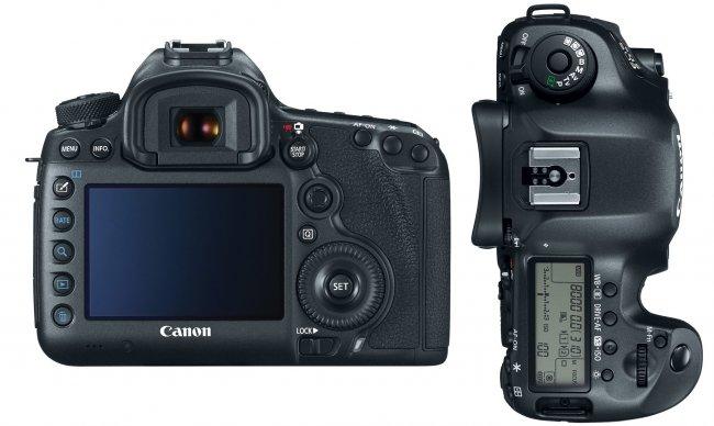 Canon EOS 5Ds (R): Äußerlich hat sich praktisch nichts verändert [Bildmaterial: Canon]