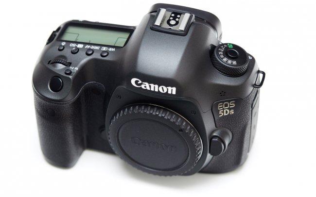 Canon EOS 5Ds - Am Design hat Canon kaum etwas geändert