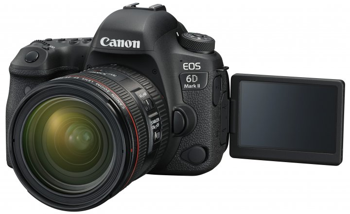 Canon EOS 6D Mark II + Canon EF 24-70 mm f/4L IS USM [Bildmaterial: Canon]