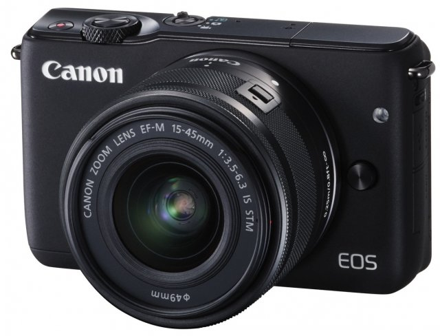 Canon EOS M10 mit EF-M 15-45 mm IS STM [Bildmaterial: Canon]