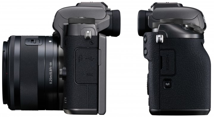 Canon EOS M5 [Bildmaterial: Canon]
