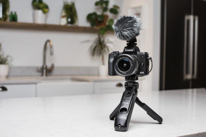 Canon EOS M50 Mark II [Bildmaterial: Canon Deutschland]