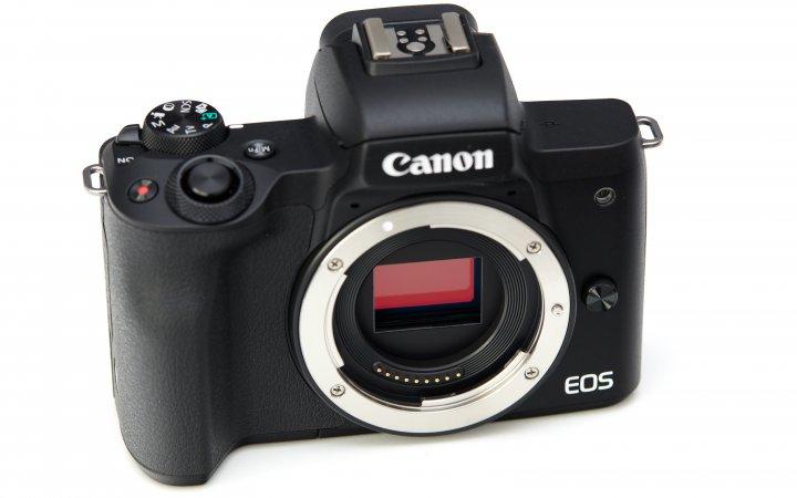 Canon EOS M50 Mark II: Im Inneren arbeitet der gleiche 24-Megapixel-Sensor wie bei der Vorgängergeneration
