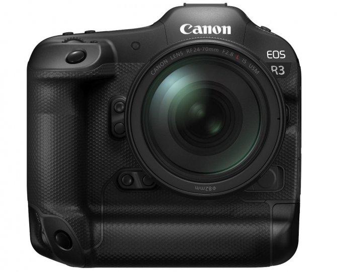 Canon EOS R3 [Bildmaterial: Canon Deutschland]