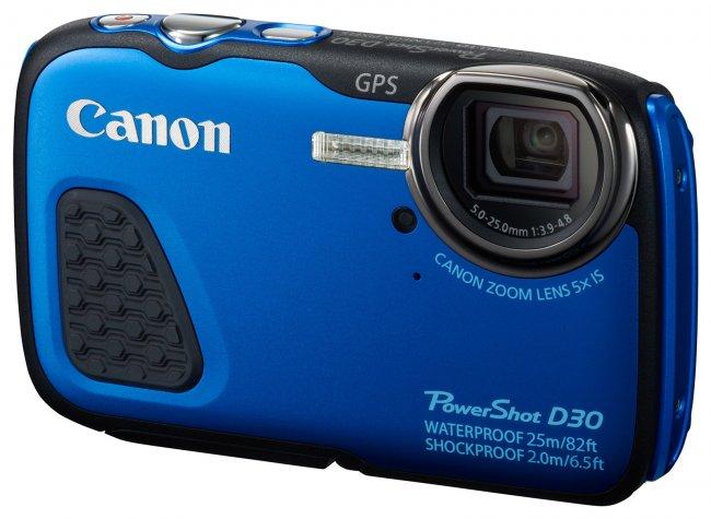 Canon PowerShot D30 für Unterwasseraufnahmen [Bildmaterial: Canon]