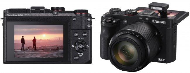 Canon PowerShot G3 X: Die Kompaktkamera kombiniert einen 1-Zoll-CMOS-Sensor, ein 25-fach-Zoom-Objektiv und ein hochauflösendes Touch-Display