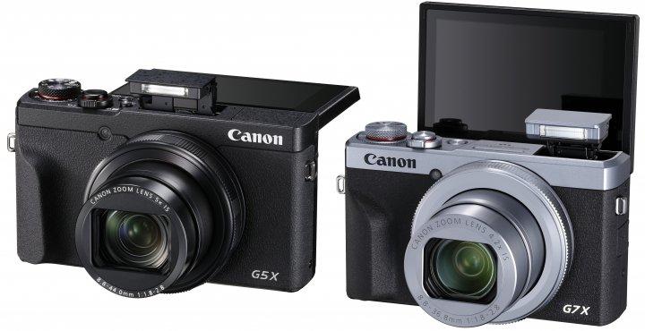 Canon PowerShot G5 X Mark II und G7 X Mark III [Bildmaterial: Canon Deutschland]