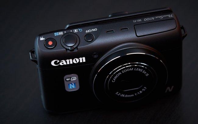 Canon PowerShot N100: Das Gehäuse erinnert etwas an Spielzeug-Kameras