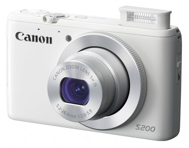Canon PowerShot S200 in kompaktem Design [Bildmaterial: Canon]