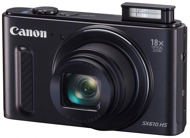 Canon PowerShot SX610 HS [Bildmaterial: Canon]