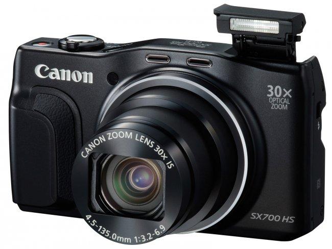 Canon PowerShot SX700 HS mit 30-fach-Zoom [Bildmaterial: Canon]