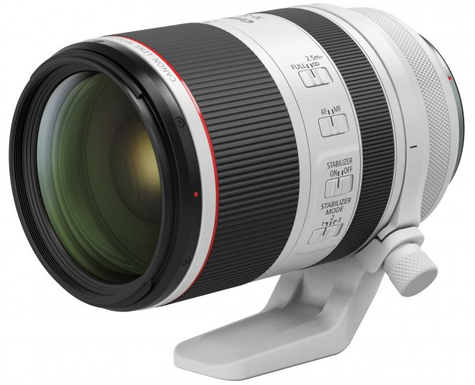 Canon RF 70-200mm f/2.8L IS USM [Bildmaterial: Canon USA]