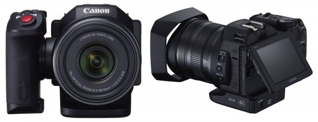 Sogar mit Touch-Display: Canon XC10 4K-Camcorder [Bildmaterial: Canon]