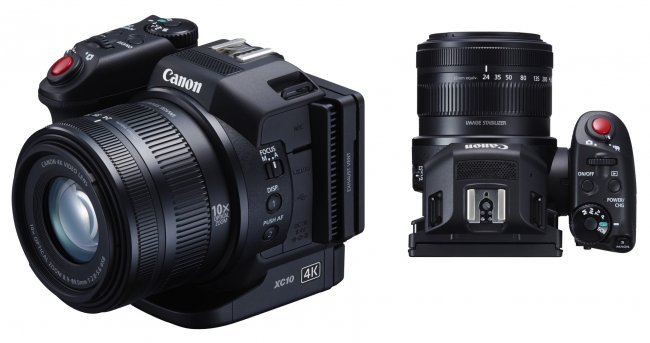 4K-Camcorder im DSLR-Look: Canon XC10 [Bildmaterial: Canon]