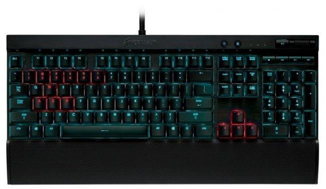 Corsair K70 - Erste Tastatur mit Cherry MX-RGB Tastenschaltern [Bildmaterial: Corsair]