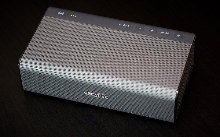Sehr viele Raffinessen hat Creative dem Bluetooth-Lautsprecher ROAR verpasst