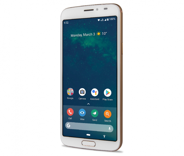 Android wurde auf dem Doro 8080 leicht angepasst