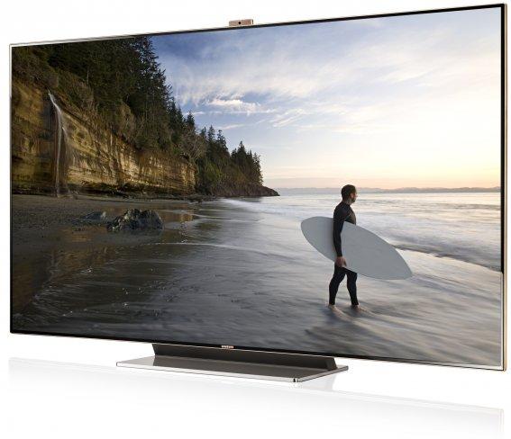 Samsung ES9000 mit 75 Zoll Bilddiagonale auf der IFA 2012
