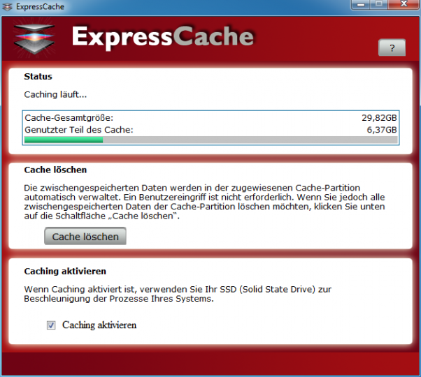 SanDisk ReadyCache Software: ExpressCache