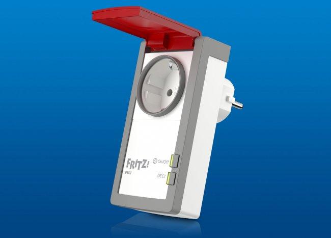 Fritz!DECT 210: Steuerbare Steckdose, nun auch für Outdoor-Szenarien geeignet (Quelle: AVM)