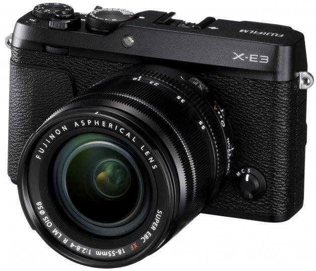Fujifilm X-E3 zusammen mit dem XF18-55mmF2.8-4 R LM OIS Kit-Objektiv [Bildmaterial: Fujifilm]