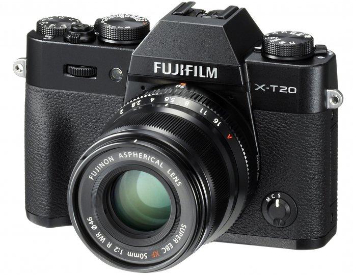 Fujifilm X-T20 [Bildmaterial: Fujifilm]