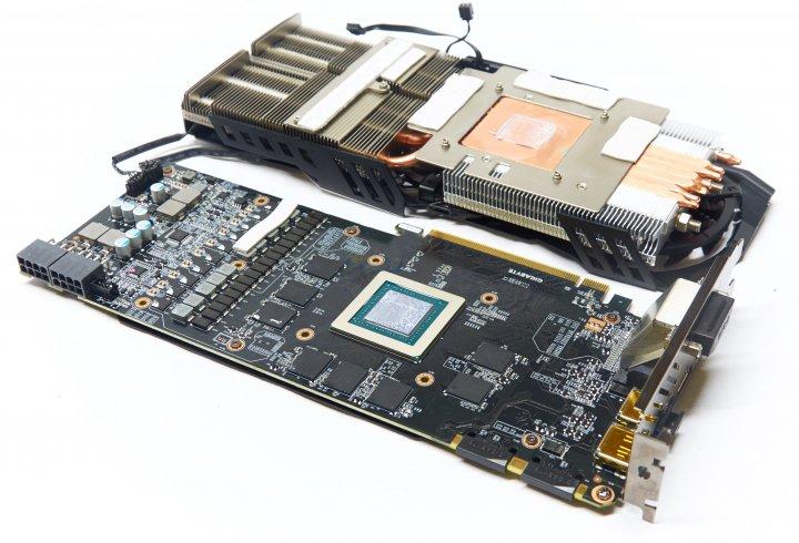 Gigabyte GeForce GTX 970 Xtreme Gaming - PCB und Kühler